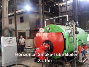 บอยเลอร์ Boiler 2.4 ตัน